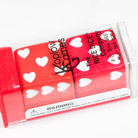 Sweetheart Dice Heart Valentines Day 25mm