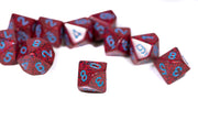Speckled Veronica Set of Ten d10 Dice OOP