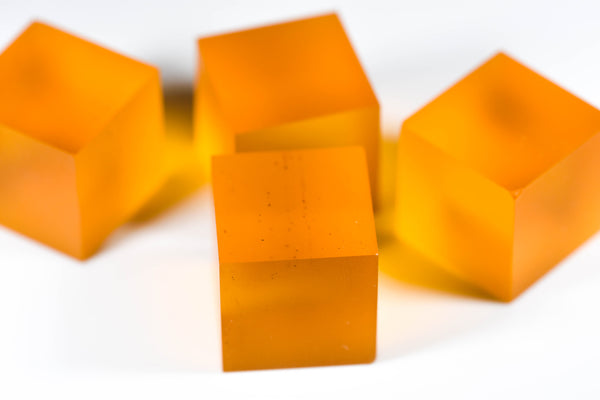 Blank Orange 19mm Casino Dice (price is per die)