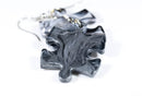 Earrings Lustrous Puzzle Piece Pair (Grey) [8]