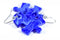 Earrings Vortex Puzzle Piece Pair (Blue) [13]