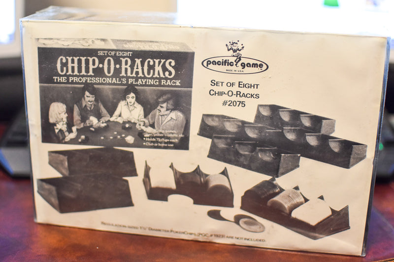 Set of Eight Chip-O-Racks