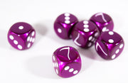 Custom Scythe Purple Velvet with White Chessex Magic Rare by BrycesDice