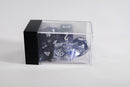 Chessex Polyhedral 7 Die Nebula Black w/ White Numbers Set Of 7 Dice CHX 27408
