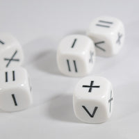 Math Operators Dice +-x < > = Kids Math Dice Game Addition Multiplication Subtraction and More
