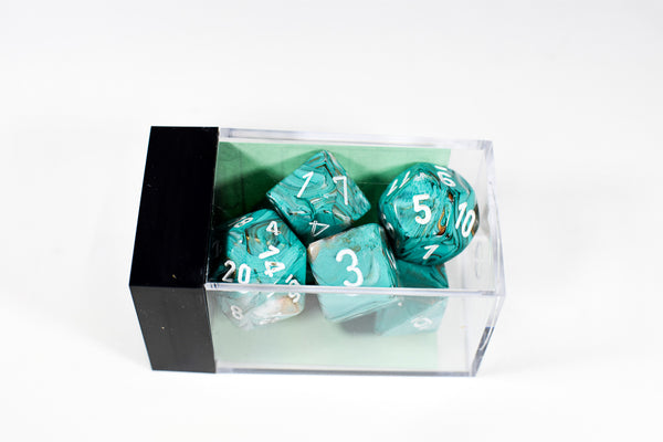 Chessex Marble Polyhedral Oxi-Copper™ (Multiple Options)