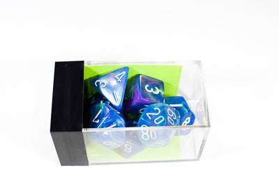 Chessex Festive Waterlily Blue/white (Multiple Options) *read description*