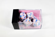 Chessex Festive Pop Art Pink/blue (Multiple Options)