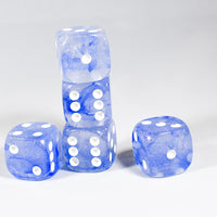 Team Blue Pipped Iridescent d6 BD6001