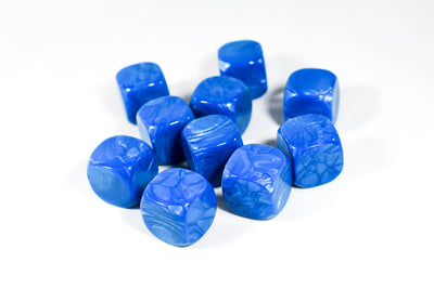 Pearl Blue Blank 16mm d6