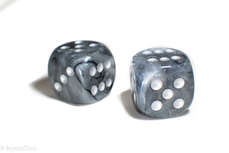 Borealis Light Smoke/silver 7-Dice / 16mm / 12mm / 30mm Luminary
