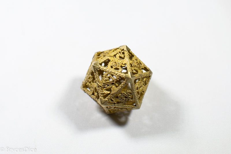 Single D20 Deadly Dragon Dice (Multiple Colors)
