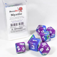 Mystic Tri-Color Swirl Purple/Blue/Green