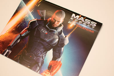 Mass Effect 2019 Calendar Loot Gaming Loot Crate