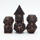 (Rustic) Deadly Dragon Dice: Shards of Oblivion Hollow Metal *Preorder