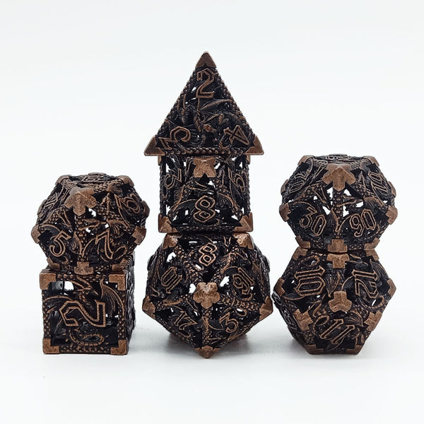 (Rustic) Deadly Dragon Dice: Shards of Oblivion Hollow Metal