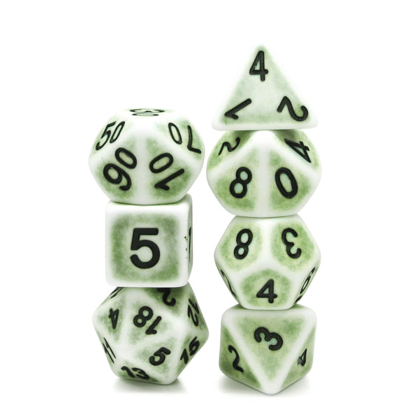 Pear Ancient 7-Dice Set