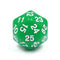 D30 Green Opaque Single Die 30 Sided/s by HDdice / HengDadice