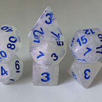 """Intense Sparkles"" 7-Dice Set (Multiple Options) *Pre-Order* Guaranteed!"