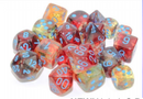Nebula Primary/turquoise Luminary 7-Dice/16mm/12mm/30mm/Ten10's *PreSale