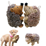Sheep and Hedgehog Squeaky Dog Toys