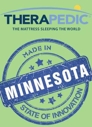 Better Mattresses, Built In Minnesota By Therapedic
