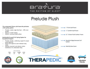 Bravura Prelude Plush By Therapedic