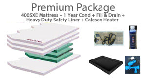 400SX S Class Hardside Waterbed Mattress By Sterling