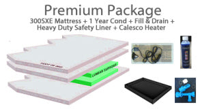 300SX Hardside Waterbed Mattress By Sterling