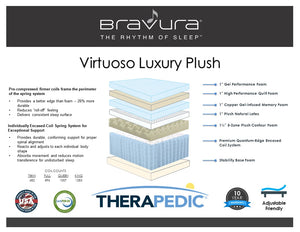 Bravura Virtuoso Plush By Therapedic