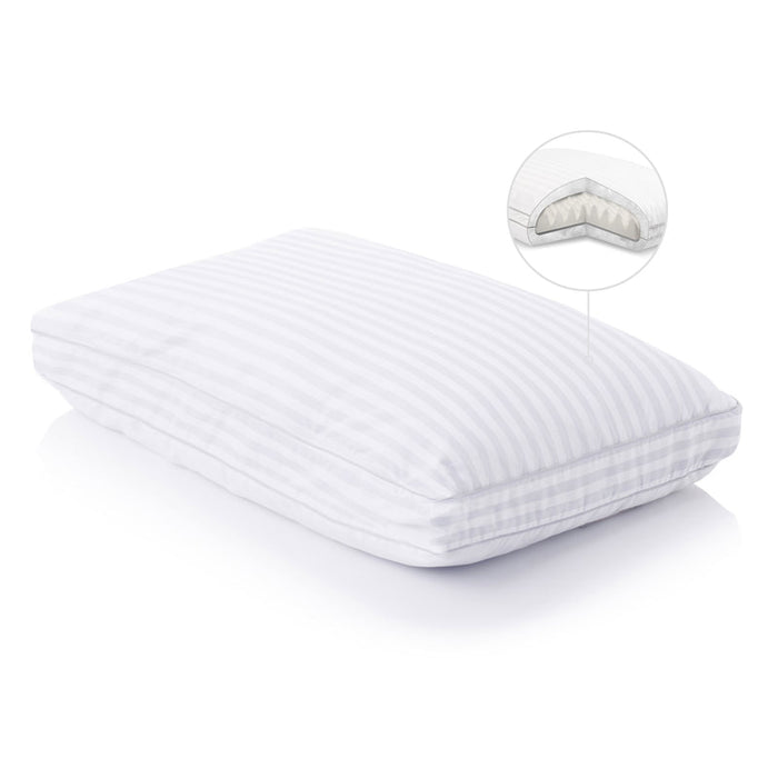 Convolution Pillow - Back/Side Sleepers By Malouf