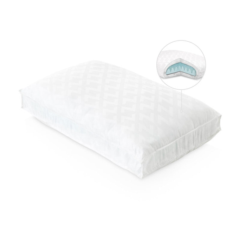 Gel Convolution Pillow - Back/Side Sleepers