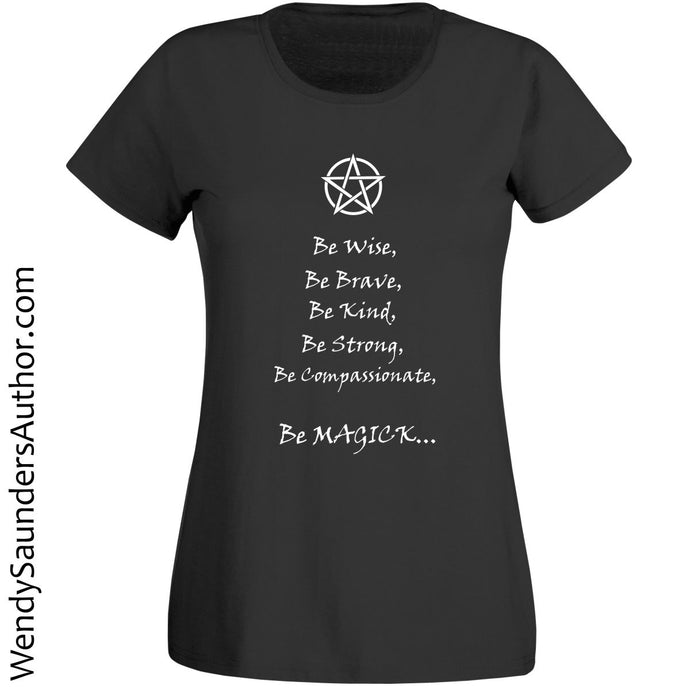 Be Magick Ladies T-Shirt