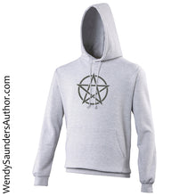 Load image into Gallery viewer, Black Pentagram Unisex Hoodie