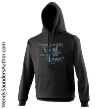 Load image into Gallery viewer, Would you Defy a God? Unisex Hoodie
