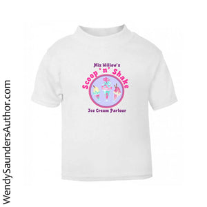 Miz Willows Scoop'n'Shake Kids T-Shirt