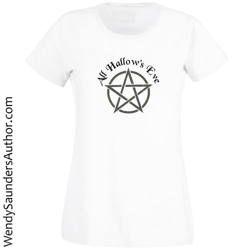 All Hallows Eve Ladies T-Shirt