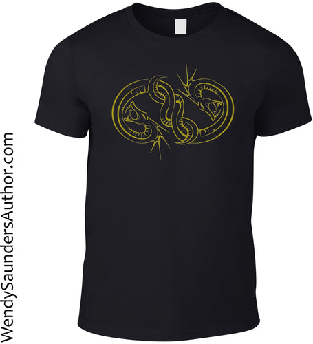 Serpent Seal Mens T-Shirt