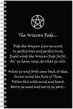 Load image into Gallery viewer, The Wiccan Rede Notebook/pencil Set