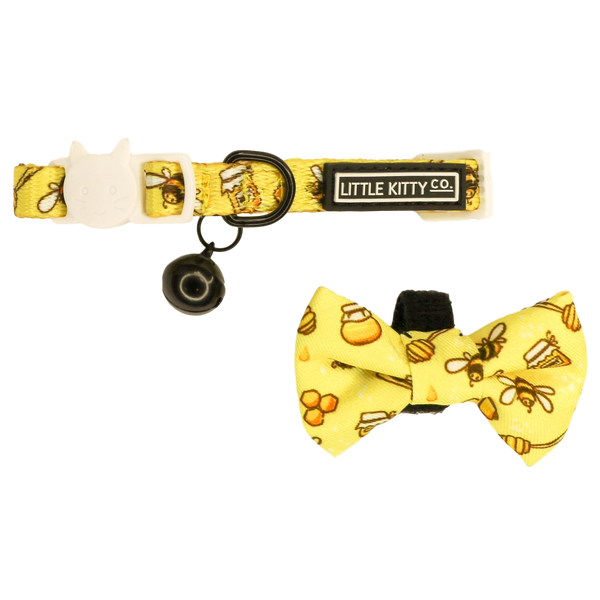 Cat Collar and Bow Tie Bee-Hiving
