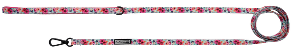 Little Kitty Co Cat Leash with Neoprene Handle That Floral Feeling Flowers