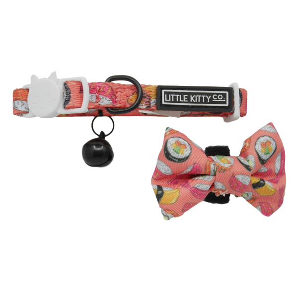 CAT COLLAR & BOW TIE: Sashimi