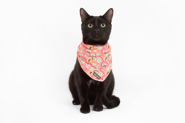 Little Kitty Co. Cooling Bandana Sashimi Sushi