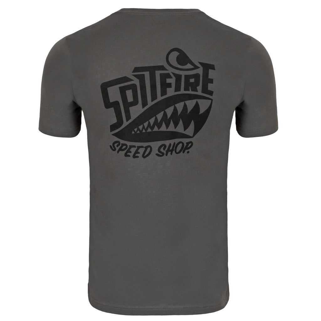 spitfire speed shop motorcycle T-Shirt