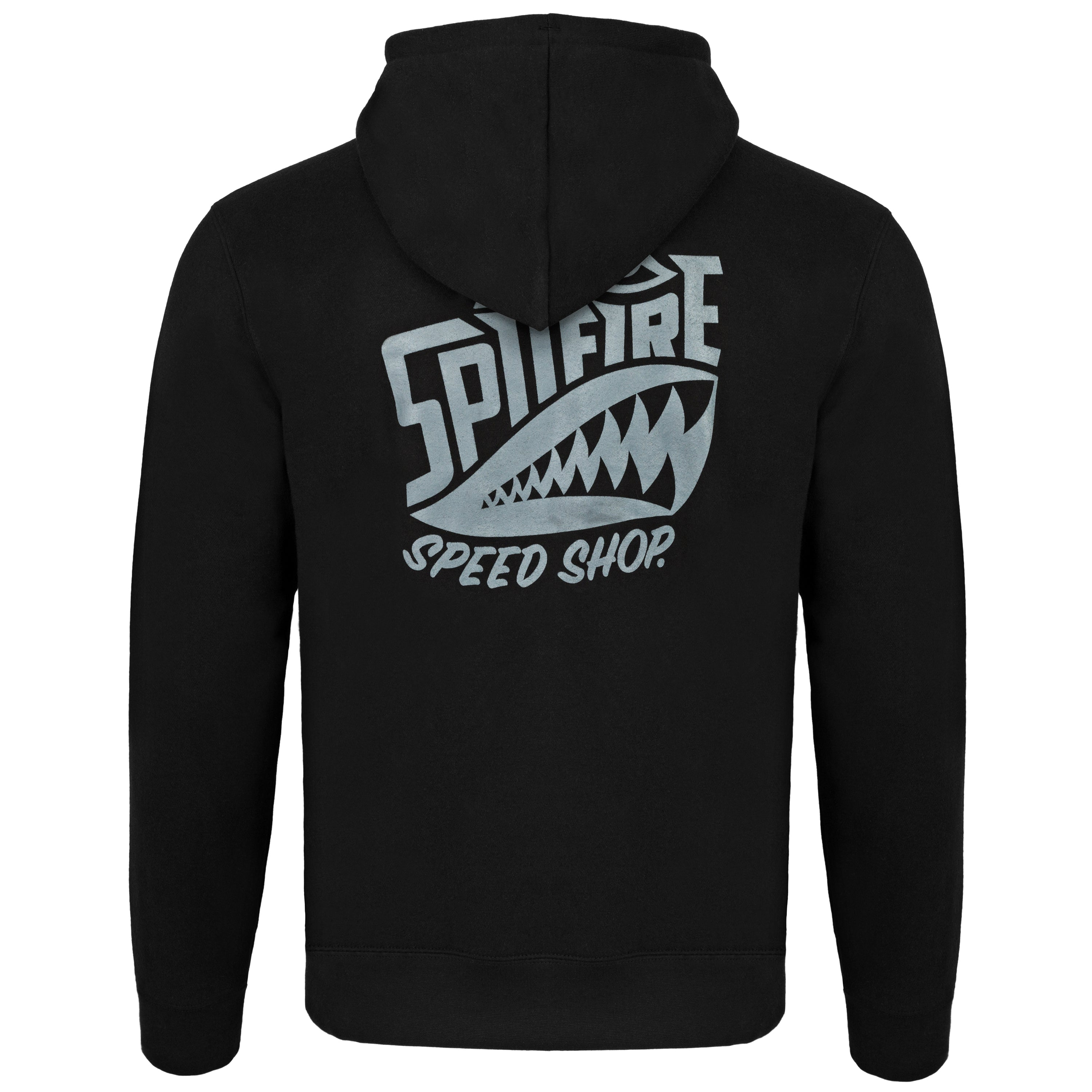spitfire speed shop motorcycle chopper hoodie