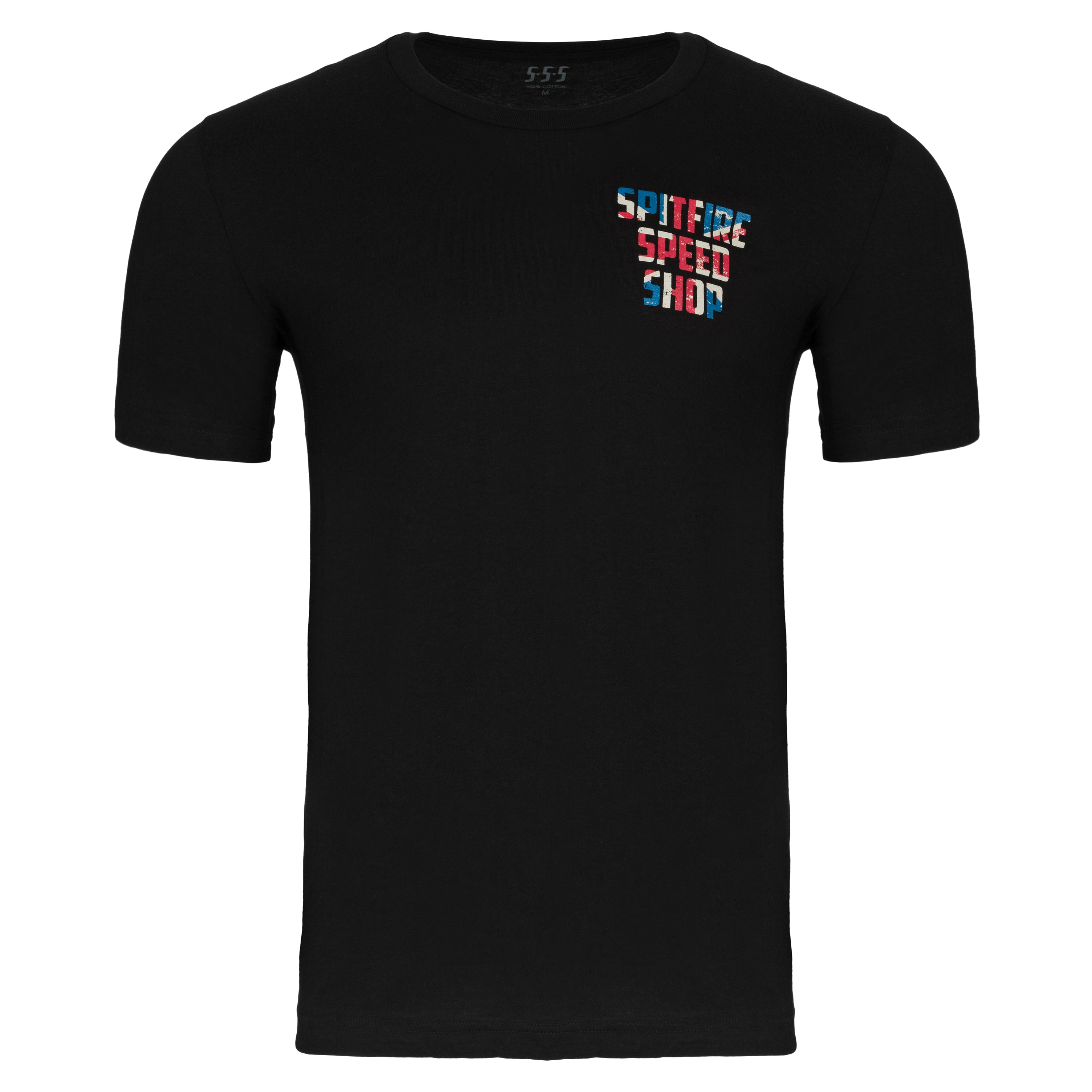 Spitfire Patriot Edition Tee With Union Jack Logo