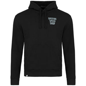 Spitfire Hoodie Black With Grey Logo