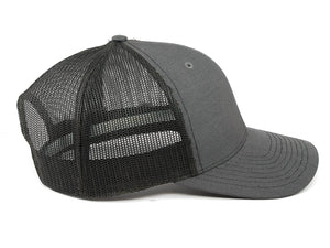 Spitfire Speed Shop Trucker Cap Grey With Midnight Text Logo