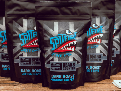 Spitfire Dark Roast Ground Coffee