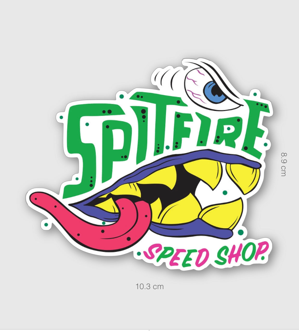 Spitfire Colour Monster Sticker Large